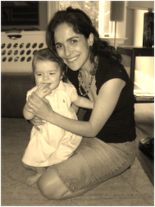 Ires Wilbanks, Yoga Doula, with her daughter